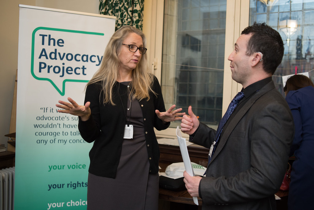 Emma Bateman and Mark Hooper at the Houses of Parliament ...