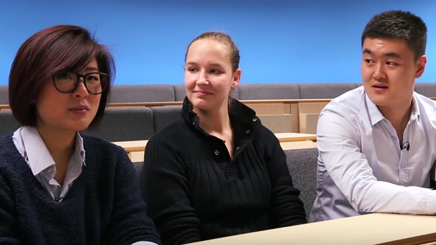 Students on the MSc in Entrepreneurship in Management discuss their experiences of the course and working in multinational teams.