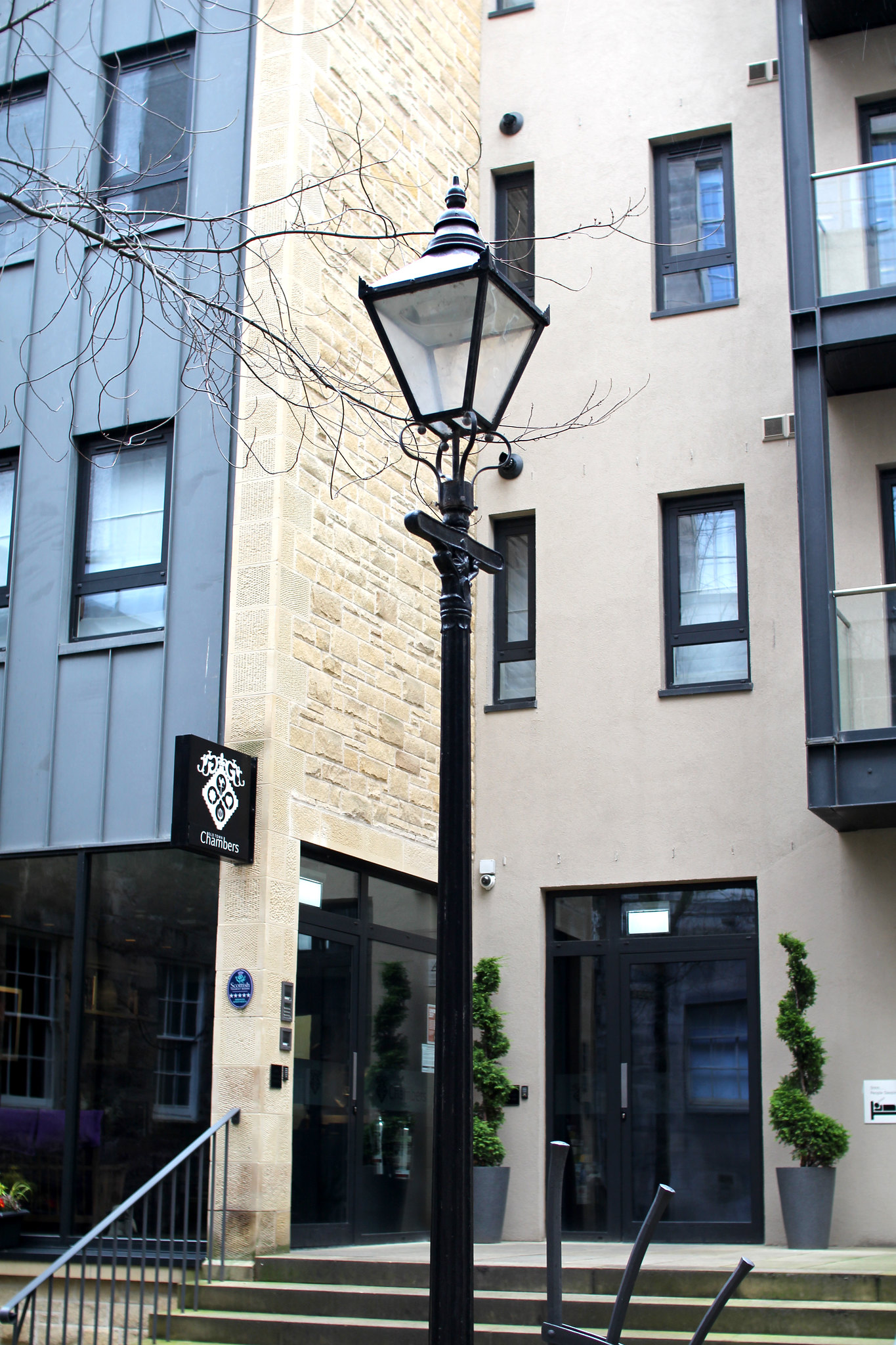 Old Town Chambers 5 star apartments Edinburgh review travel blogger UK
