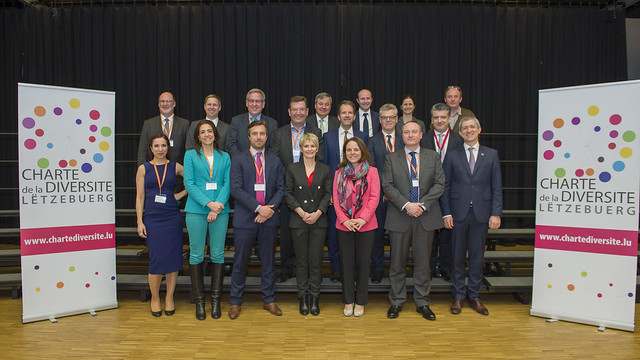 7 Cérémonie officielle de signatures de la Charte de la Diversité Lëtzebuerg le 21 mars 2017