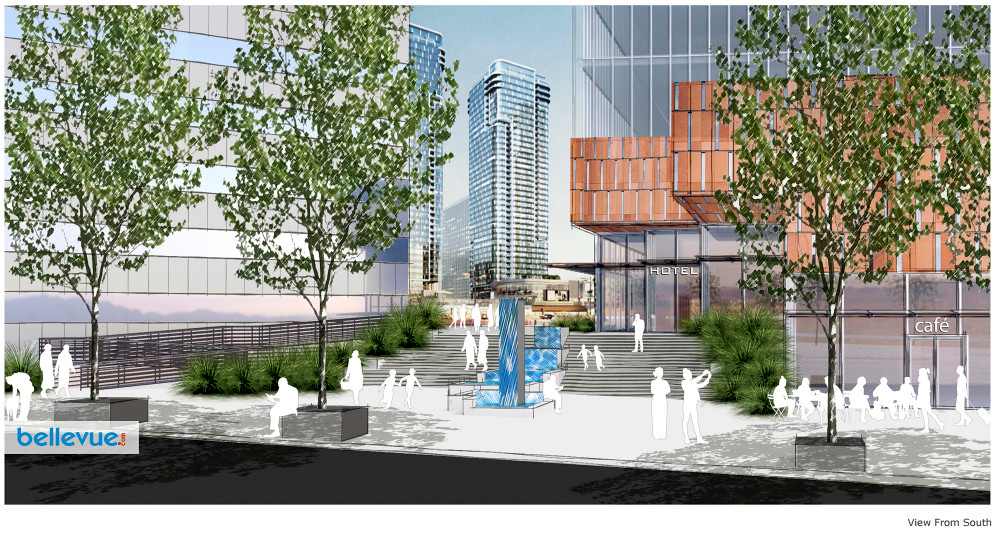 Bellevue 600 project - Rendering by Equity Commonwealth/NBBJ | Bellevue.com