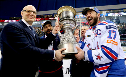 95e9ba8a5 SKA Saint Petersburg 2017 Gagarin Cup Champions - Ilya Kovalchuk is Alive  and Well and Living in Saint Petersburg