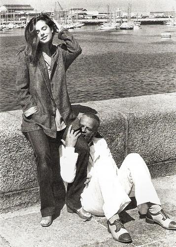 Nastassia Kinski and Klaus Kinski