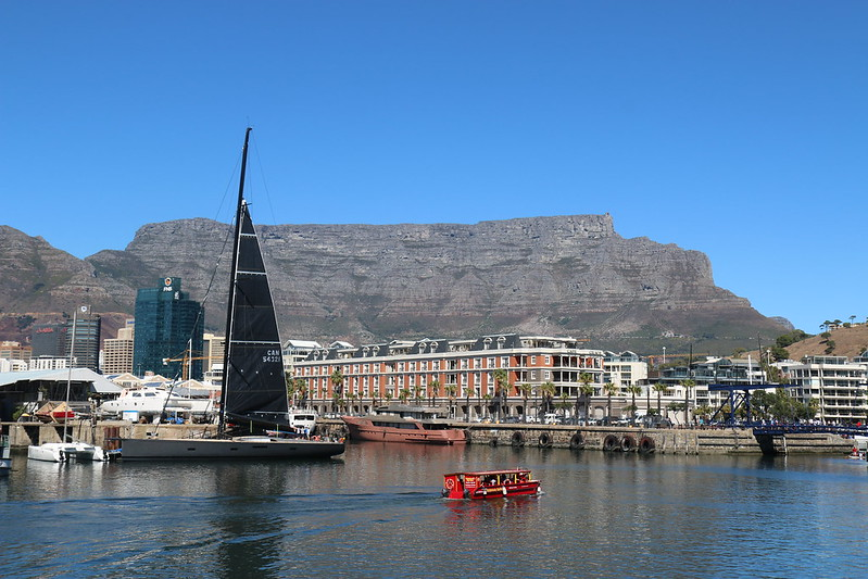 View of Table Mountain from the V&A Waterfront