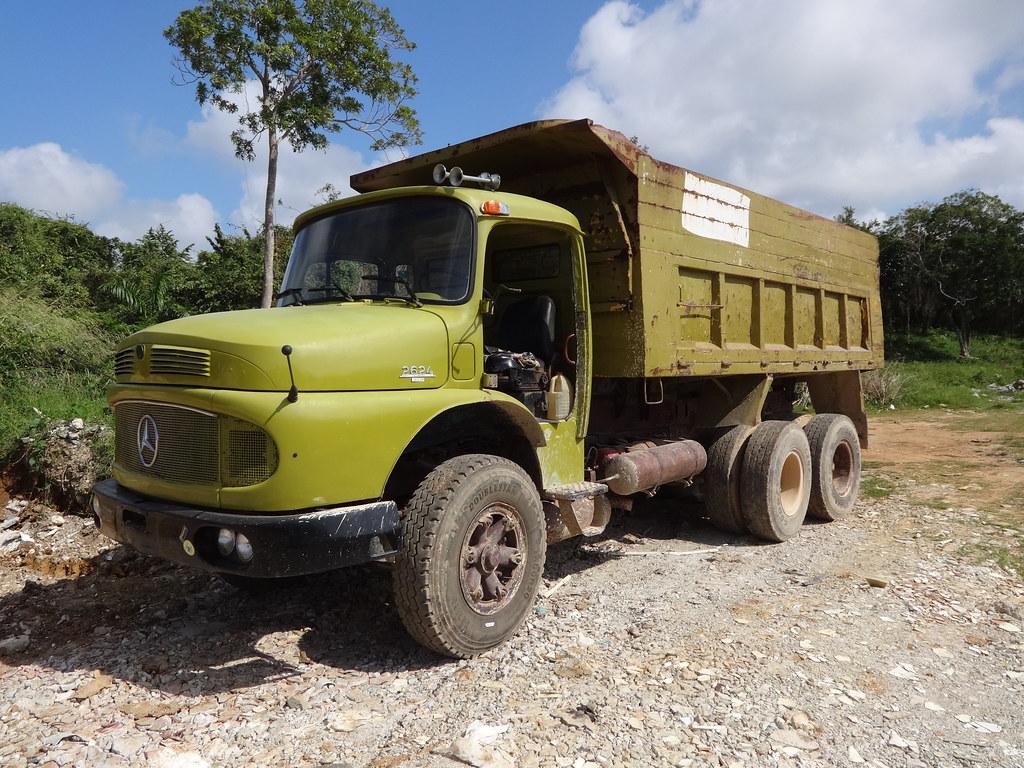 ... Mercedes 2624 dump truck | by RD Paul