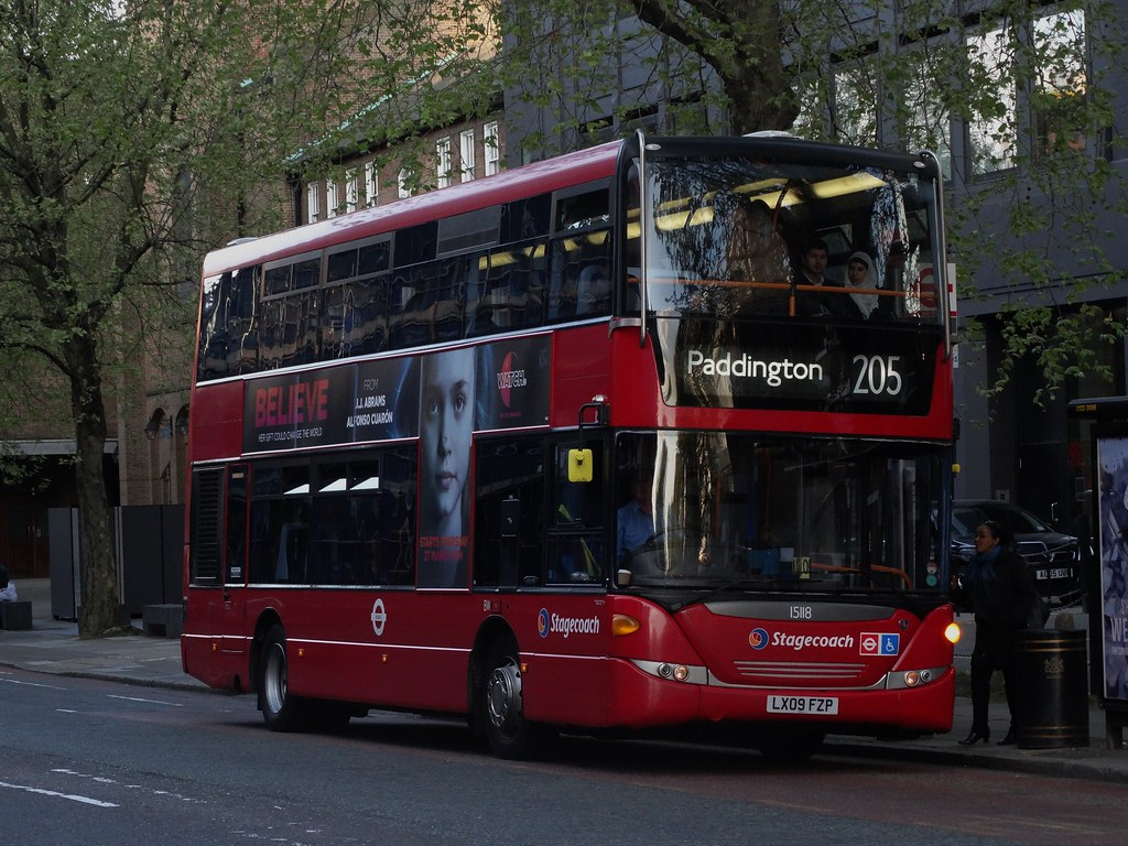 stagecoach east london scania omnicity dd (15118 - lx09 fz… | flickr