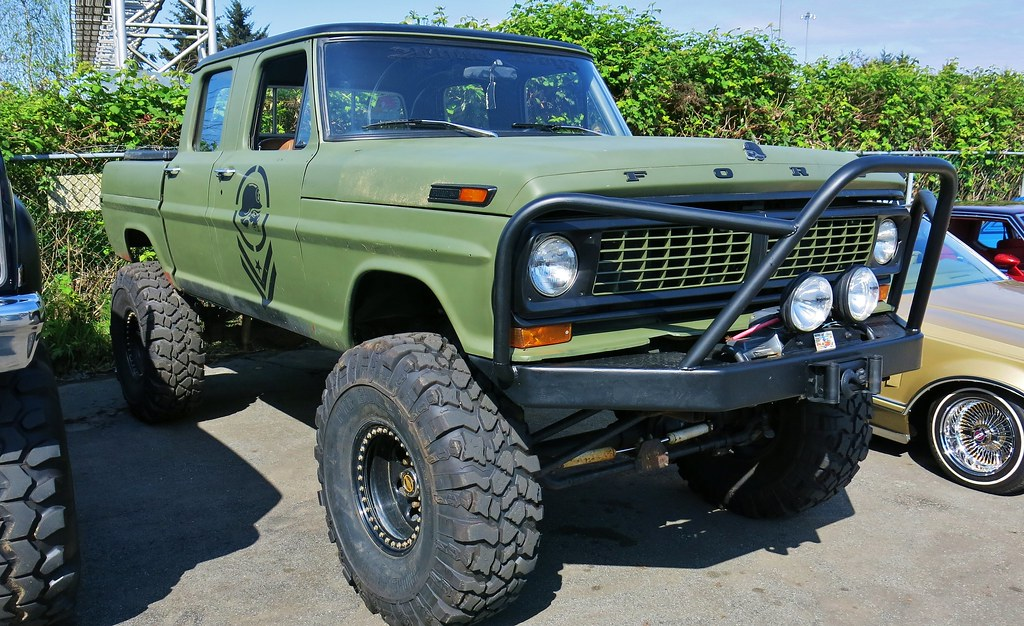1970 Ford F250 CrewCab 4X4 Pickup Truck  Just Fords  Pinterest