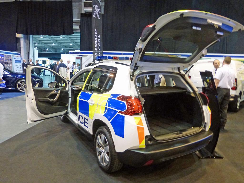 Police Peugeot 2008 Peugeot 2008 Police Demonstrator Blue Flickr