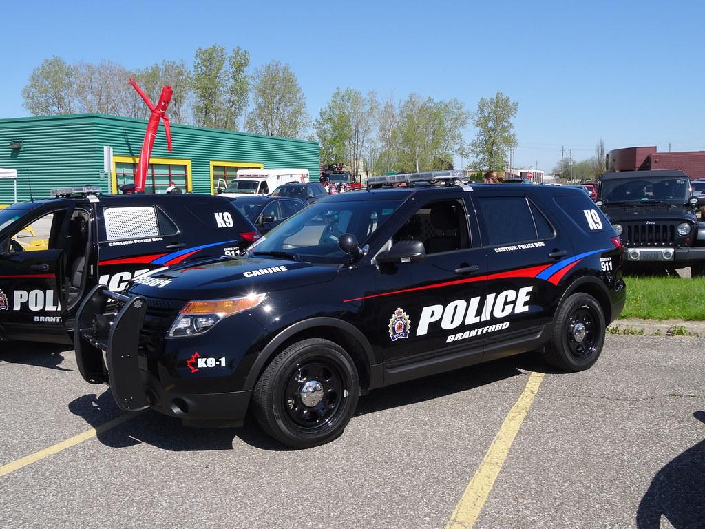 Brantford Police Ontario 2014 Ford Interceptor