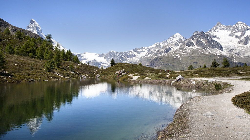 Reflections at Zermatt