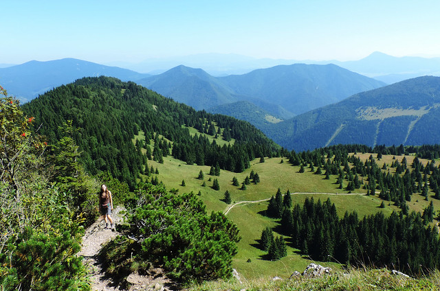 Hiking Malý Rozsutec, Little Fatra National Park, Slovakia