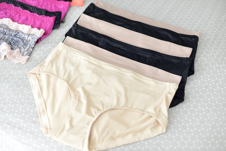Kohl's Nude and Black Plus Size Underwear