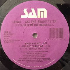 JAMAL-SKI THE BEADMASTER:LET'S DO IT IN THE DANCEHALL(LABEL SIDE-A)