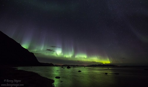 aurora borealis at Andøya. Epic Photos from Northern Norway by Benny Høynes