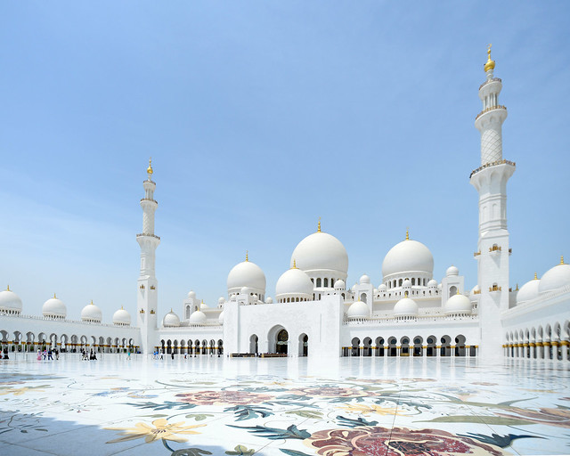 Mezquita Sheikh Zayed de Abu Dhabi