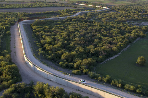 Southwest Texas McAllen Border Fence, Rio Grande Valley | by CBP Photography