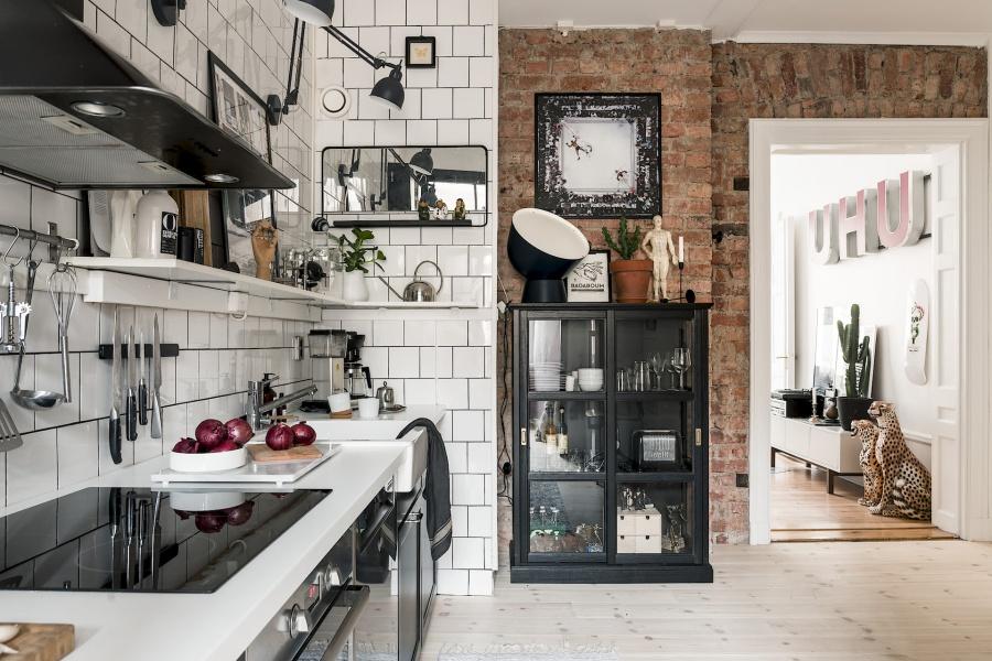 Retro Scandinavian Apartment