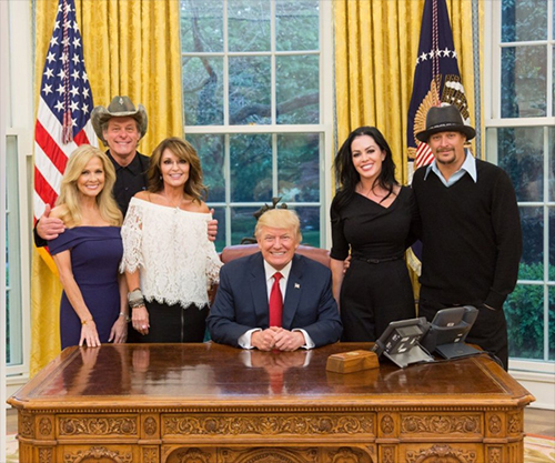 Nugent Visits The White House