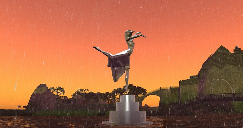 1062 - Plastic's moving statue near (388,243,23)