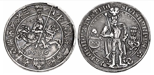 First Dated Taler 1486