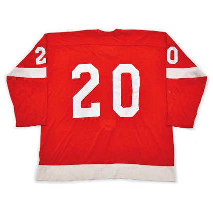 Detroit Red Wings 1972-73 B jersey