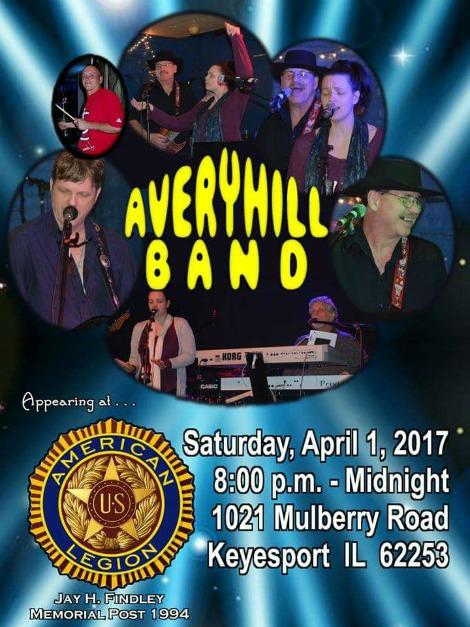 Avery Hill Band 4-1-17