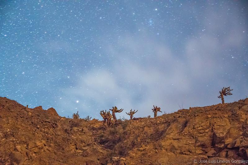 Noche de contrastes en Camiña