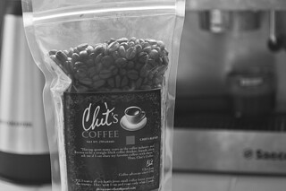Chit's Coffee - Coffee Tasting bag bw