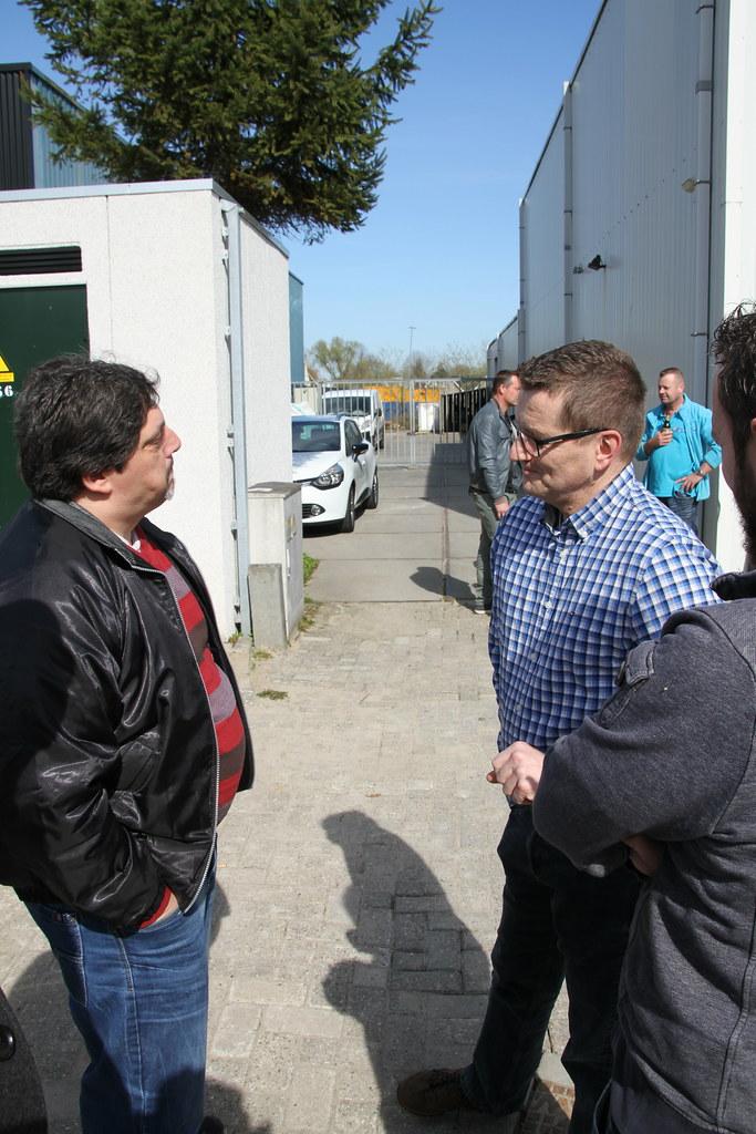 Dirk Zwagemakers en Paul van Mierlo