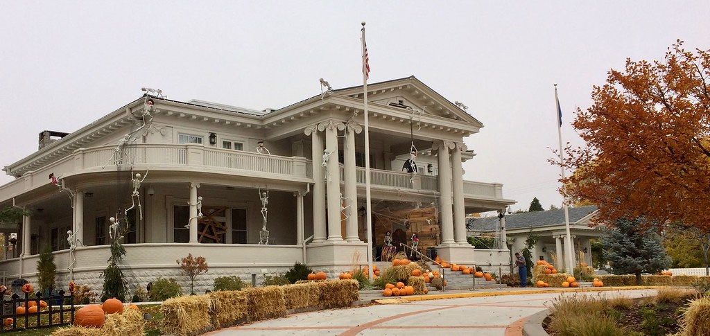 Nevada Governor's Mansion Haloween