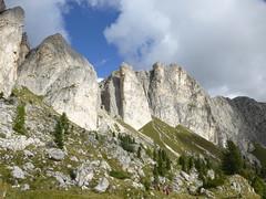 Bergwelt am Valparola Pass