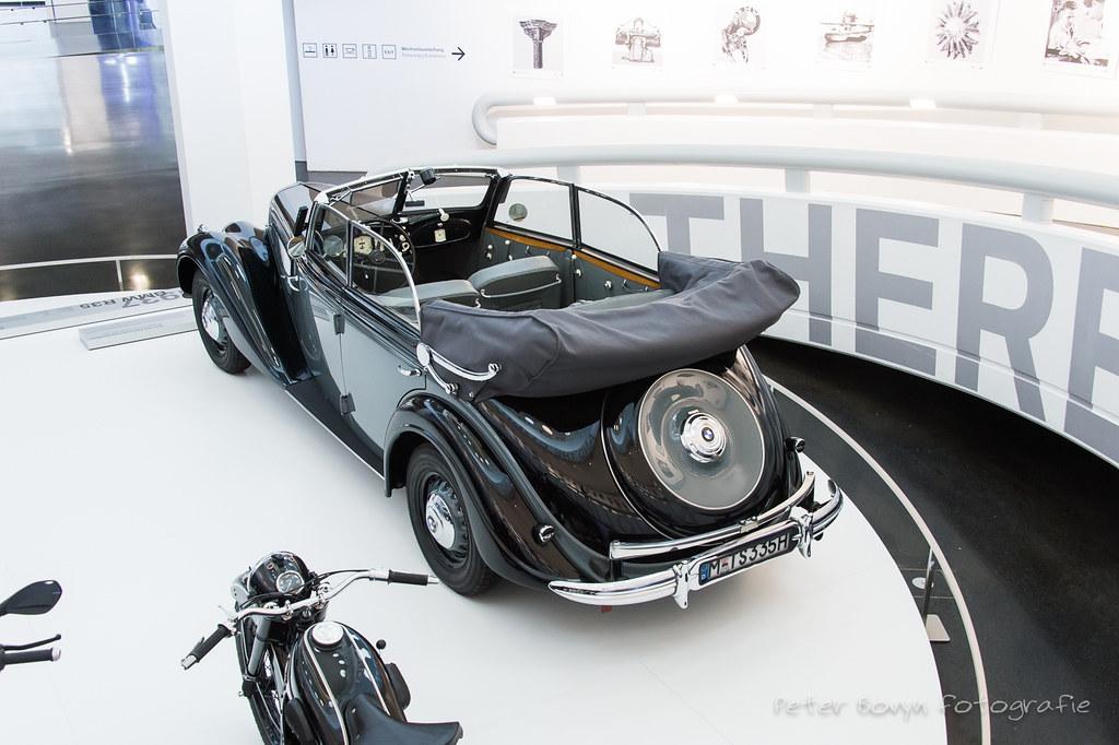 BMW 335 Cabriolet & BMW R35 | 1939- 1941 With its 335 model,… | Flickr
