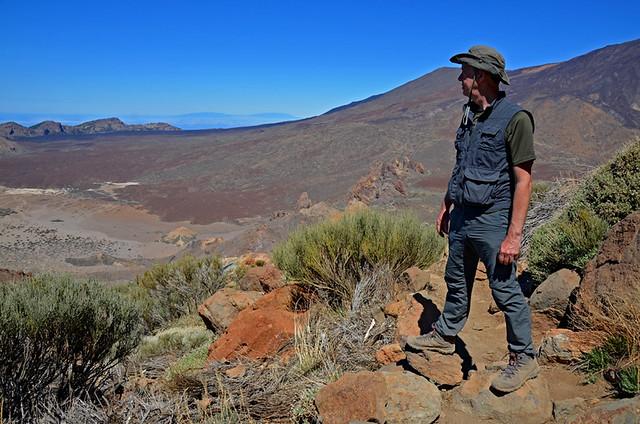 Climbing Alto de Guajara, Teide National Park