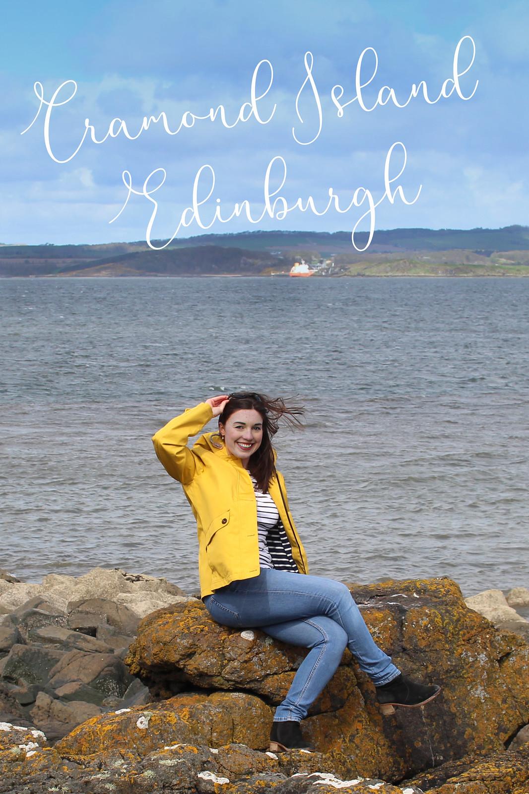 Cramond Island Village Edinburgh Scotland travel blogger UK
