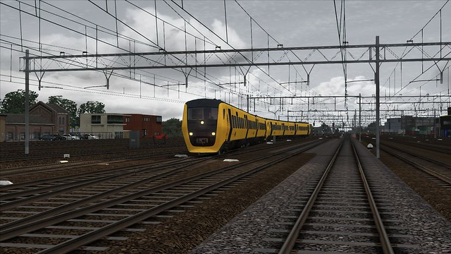 Train Simulator 2017, Station Leeuwarden NS DM'90