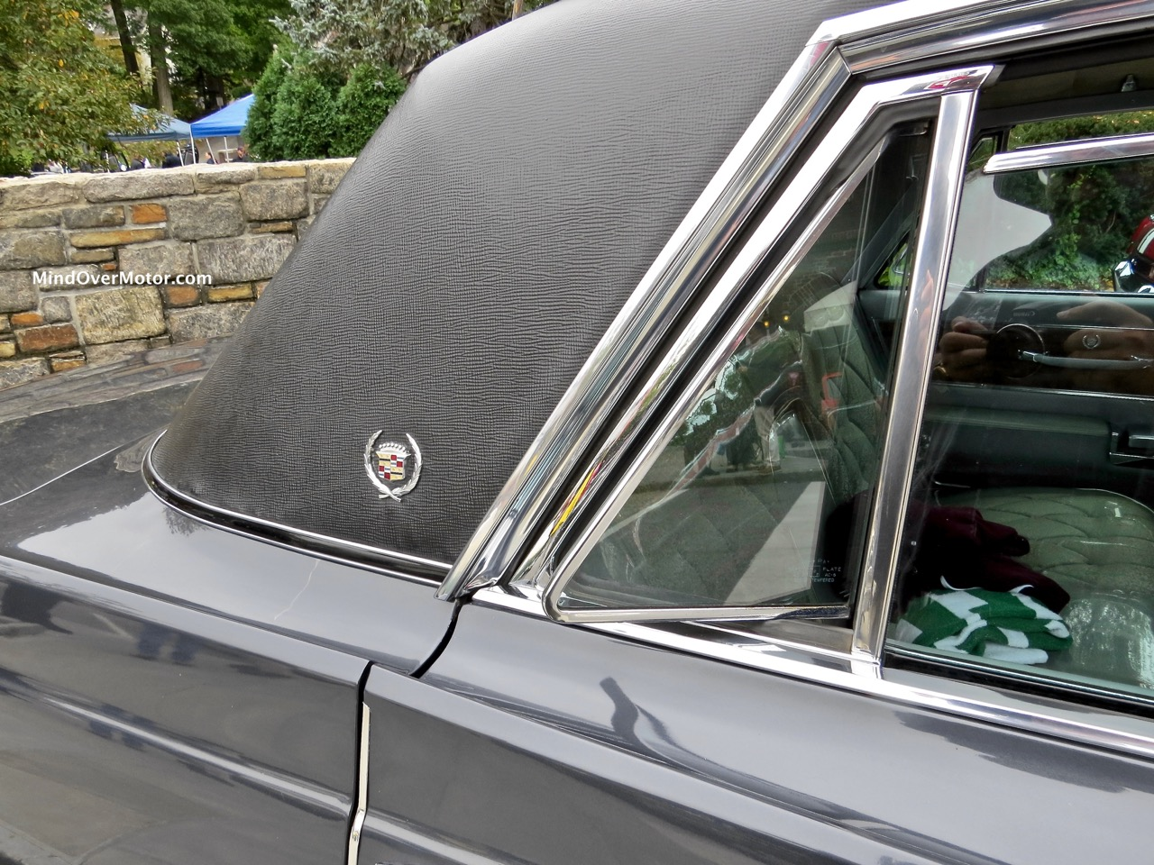 1964 Fleetwood Rear Quarter Window