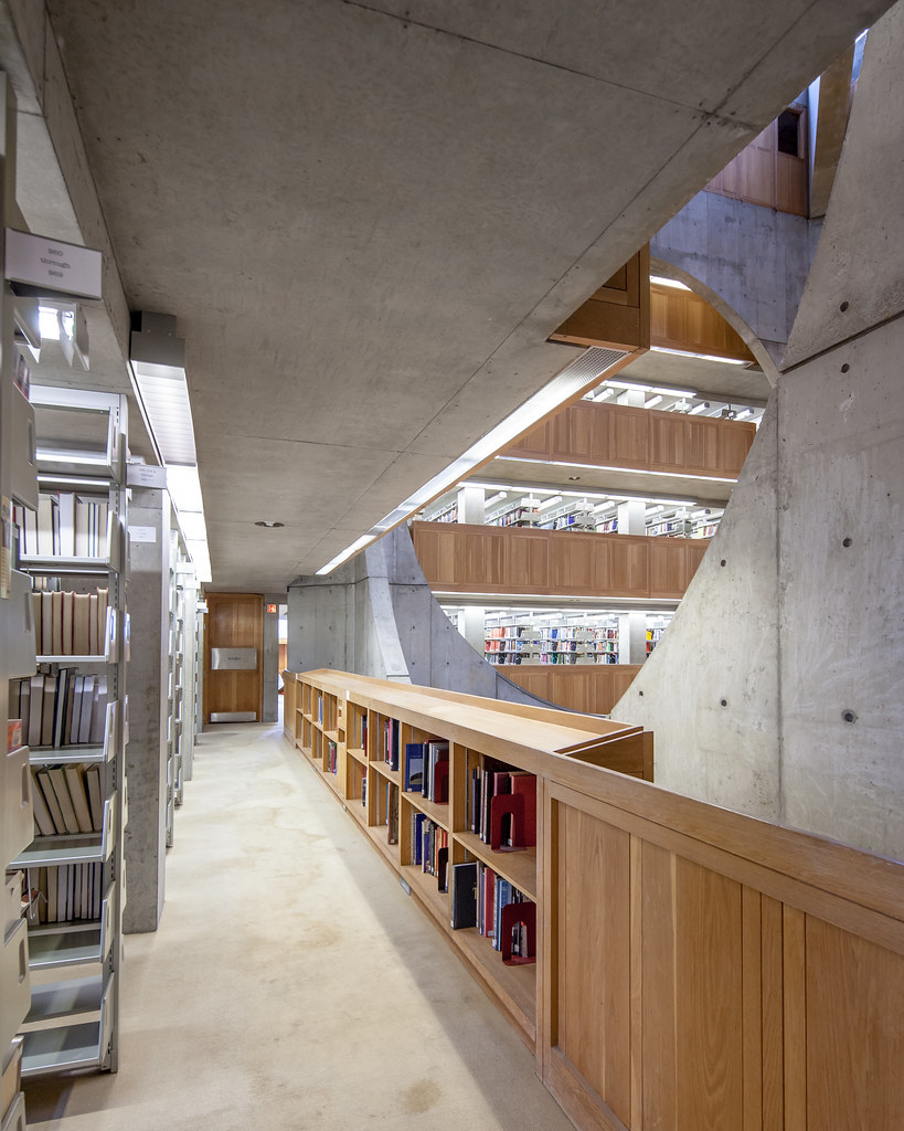 Exeter Library Louis Kahn In 1965 Louis I Kahn Was