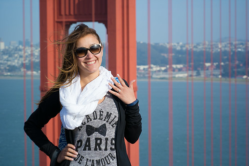 Deya and Her Ring at Battery Spencer | by nan palmero