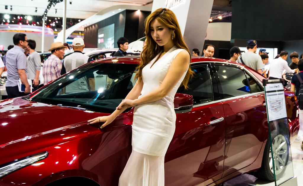 Busan International Motor Show 2014 Cadillac Model Flickr