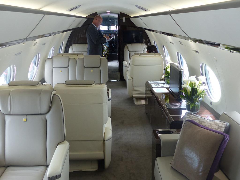 G650 N650gd The Luxurious Cabin Facing Forward Bob