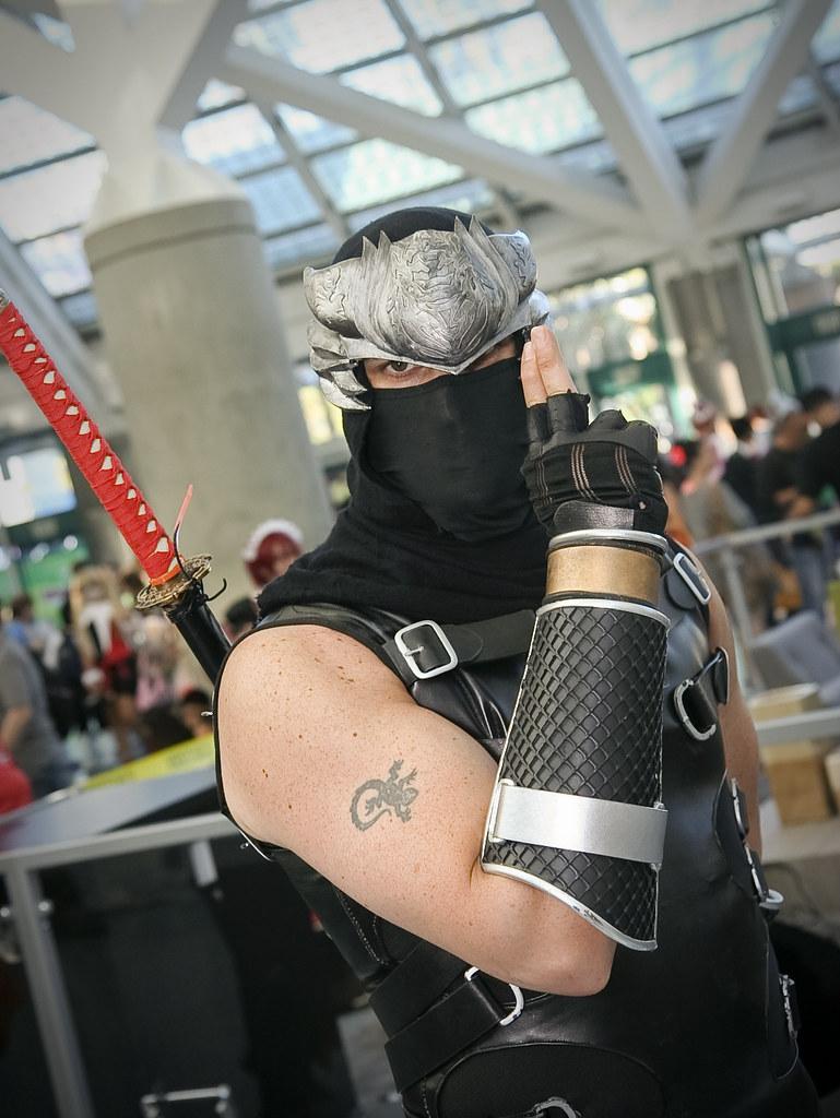 Anime Expo 2014 Ninja Gaiden Gamefan23 Jason E Flickr