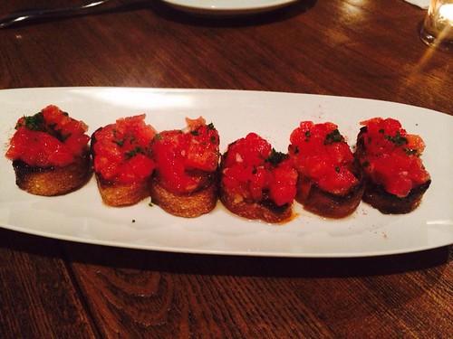 開胃番茄麵包佐特級橄橄油