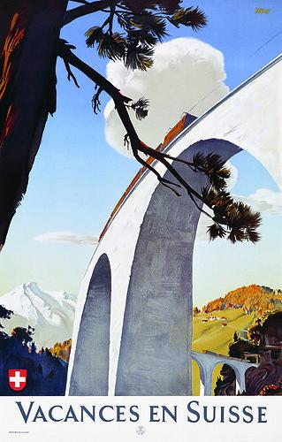 Edmund Welf Vacances en Suisse 1946