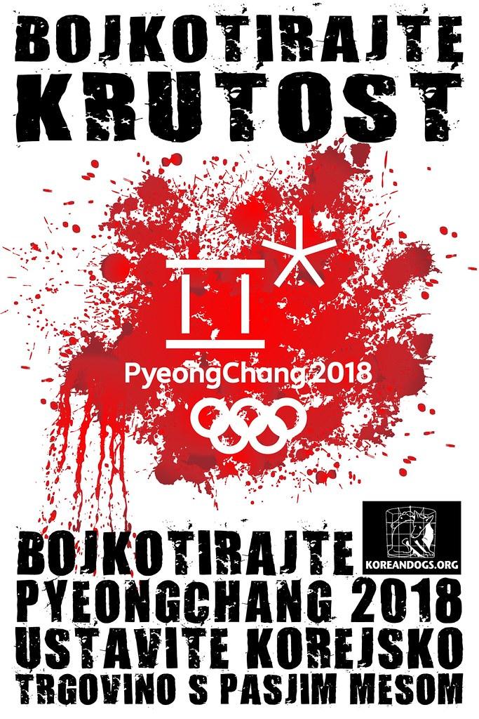 Boycott PyeongChang - Slovenian