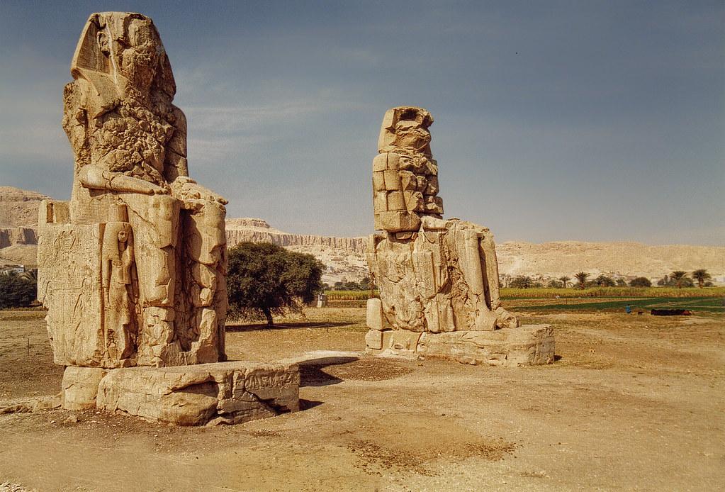 Colossi of Memnon, Lux...