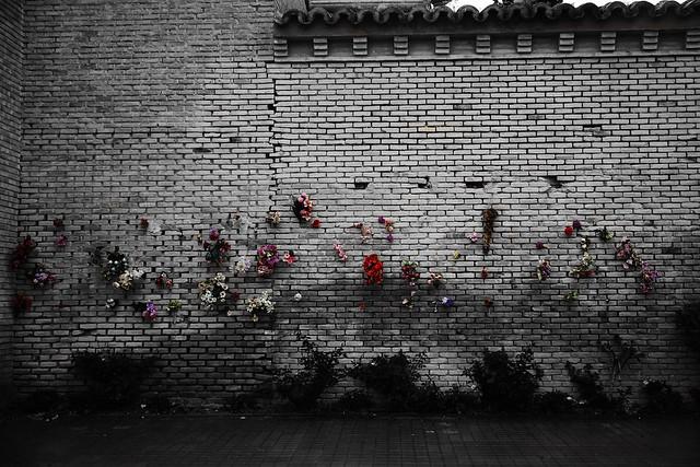 Ruta Zaragoza Rebelde. Muro de fusilamientos del Cementerio de Torrero