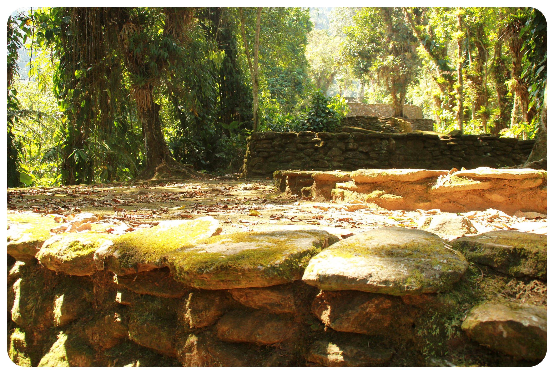 ciudad perdida colombia ruins