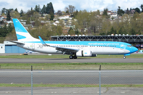 Boeing 737-8SH(WL) Aerolineas Argentinas LV-GUC LN6362