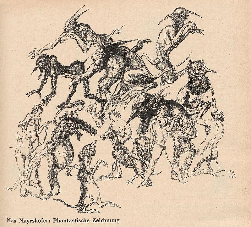 Max Mayrshofer - Fantastic Drawing, 1930