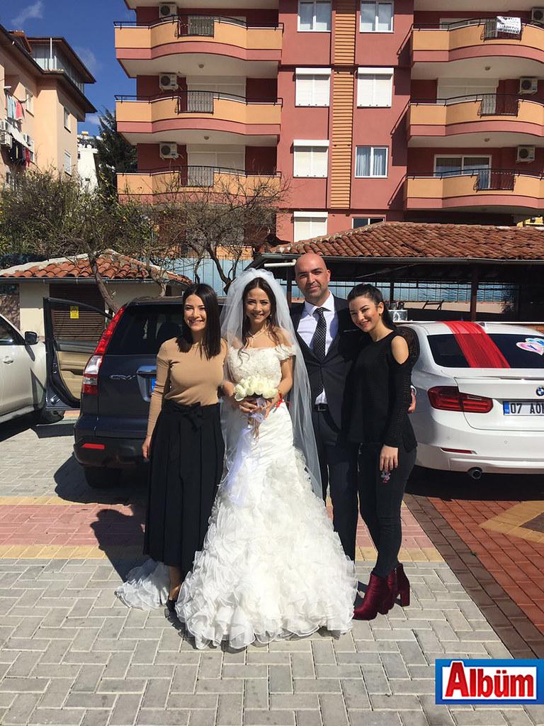 Nikahlarını Çavuşoğlu kıydı ( Yeliz Yakar ve Mehmet Palancı düğün)6